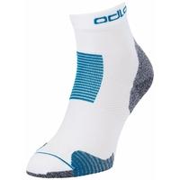 CERAMICOOL STABILIZER Quarter Socks, white - mykonos blue, large