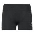 Slip Base Layer sportivo PERFORMANCE WARM da donna, black - odlo concrete grey, large