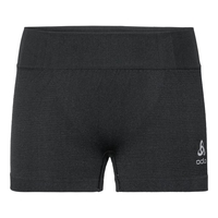 PERFORMANCE WARM-sportondershort voor dames, black - odlo concrete grey, large