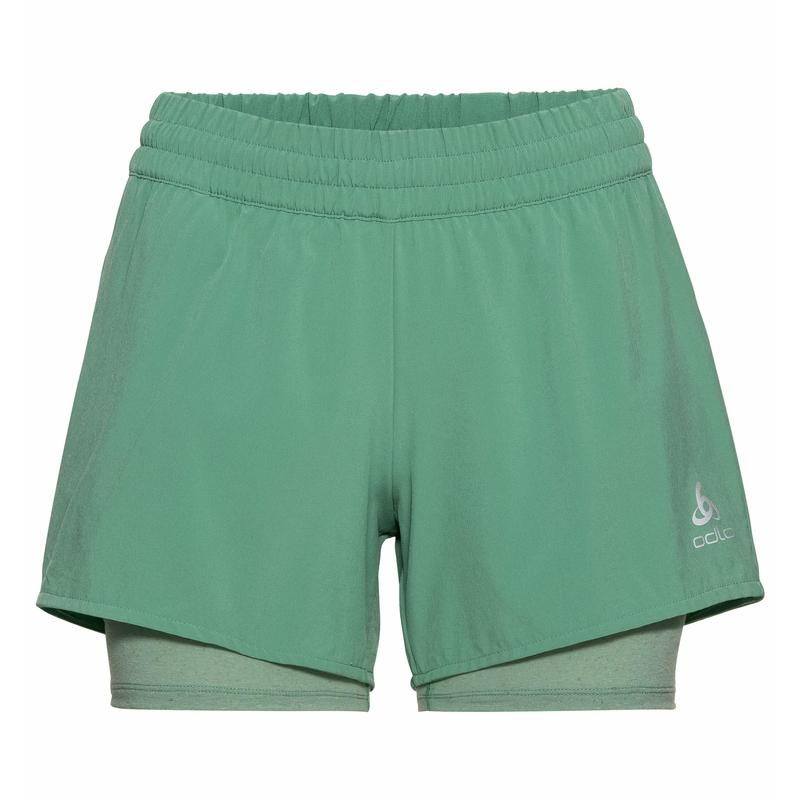 Women's MILLENNIUM PRO 2-in-1 Shorts, creme de menthe, large