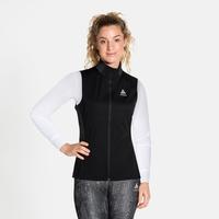 Women's ZEROWEIGHT WARM Running Vest, black, large