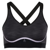 ZEROWEIGHT MEDIUM Sports Bra, black - orchid petal, large