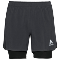 Short 2-en-1 ZEROWEIGHT CERAMICOOL PRO pour homme, black - black, large