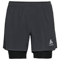 Herren ZEROWEIGHT CERAMICOOL PRO 2-in-1-Shorts, black - black, large