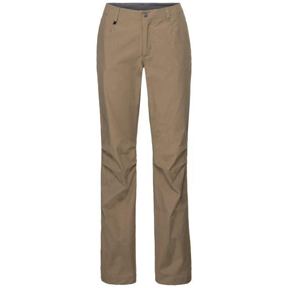 CHEAKAMUS Pants women, lead gray, large