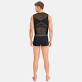 Men's PERFORMANCE BREATHE X-LIGHT Cycling Base Layer Singlet, black, large