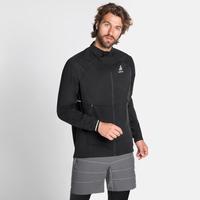 Men's ZEROWEIGHT PRO WARM Running Jacket, black, large