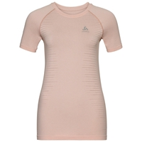 SEAMLESS ELEMENT-T-shirt voor dames, sepia rose melange, large