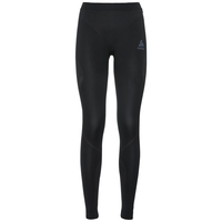 PERFORMANCE EVOLUTION-sportonderbroek voor dames, black - odlo graphite grey, large