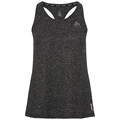 BL TOP Tank MILLENNIUM LINENCOOL, black melange, large