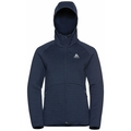 Women's HAVEN X-WARM Midlayer Hoody, diving navy, large