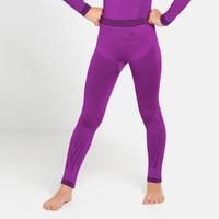 PERFORMANCE WARM KIDS Leggings, purple cactus flower - charisma, large