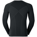 EVOLUTION WARM baselayer shirt, black - odlo graphite grey, large