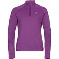 Pull ½ zip CARVE LIGHT pour femme, hyacinth violet, large