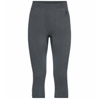 Men's PERFORMANCE WARM ECO Baselayer 3/4 Pants, grey melange - black, large