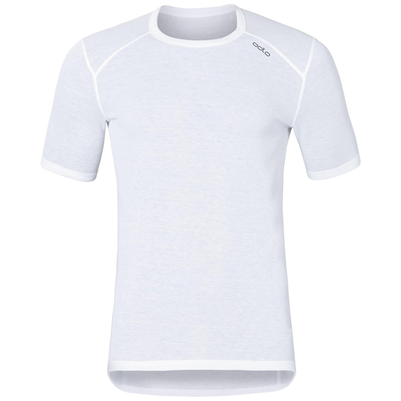 Men's ACTIVE WARM Base Layer T-Shirt, white, large