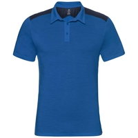 Polo manches courtes SAIKAI CERAMIWOOL, energy blue, large