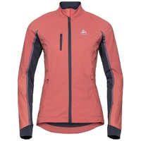 Women's MILES Jacket, faded rose - odyssey gray, large