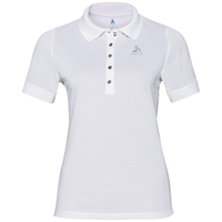 Polo shirt s/s GEORGIA RT, white, large