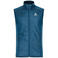 Gilet IRBIS HYBRID SEAMLESS X-WARM, poseidon - blue jewel, large