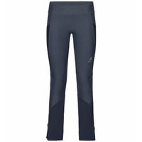 Women's EXO Tights, blue indigo melange - diving navy, large