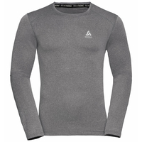 Men's ACTIVE THERMIC Long-Sleeve Baselayer, grey melange, large