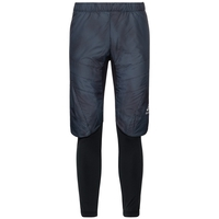 Pants IRBIS X-Warm, black - blue jewel - AOP FW18, large
