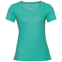 Damen F-DRY T-Shirt, pool green, large