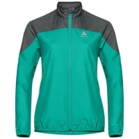 Women's ELEMENT LIGHT Jacket, pool green - odlo graphite grey, large