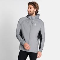 Men's MILLENNIUM X WARM Jacket, grey melange, large