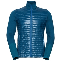 Midlayer full zip ENGAGE, blue opal - lake blue, large