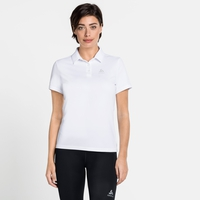 Women's CARDADA Polo Shirt, white, large