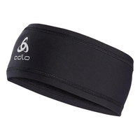POLYKNIT LIGHT Headband, black, large