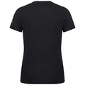 T-shirt s/s crew neck MAREN CITY, black - SWISS flag, large