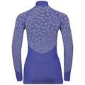 BLACKCOMB-basislaagtop met col voor dames, clematis blue - tradewinds - clematis blue, large