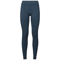 Women's PURE CERAMIWARM Tights, blue wing teal, large
