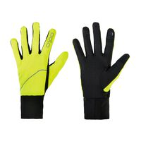 Gloves INTENSITY SAFETY Light, safety yellow, large