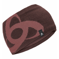 CERAMIWARM MID GAGE Stirnband, decadent chocolate - roan rouge, large