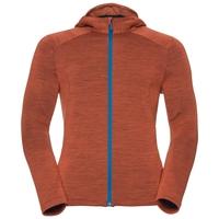 SIERRA Midlayer Hoodie, orangeade, large