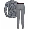 Ensemble de sous-vêtements techniques longs ACTIVE WARM Heritage pour homme, grey melange - AOP FW19, large