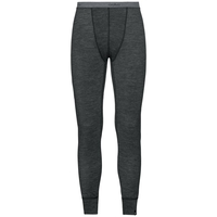 Pants NATURAL + WARM, black melange, large