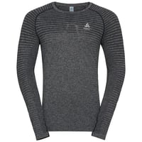 Men's SEAMLESS ELEMENT Long-Sleeve T-Shirt, grey melange, large
