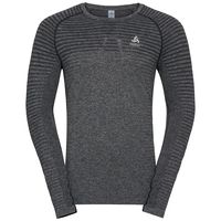Men's SEAMLESS ELEMENT Long-Sleeve Top, grey melange, large