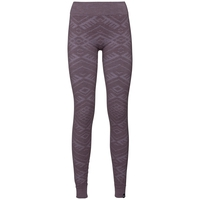 Sous-vêtement technique Collant long NATURAL + KINSHIP WARM pour femme, vintage violet melange, large