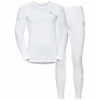 Herren PERFORMANCE EVOLUTION WARM Funktionsunterwäsche Set, white, large