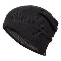 Hat MID GAGE Reversible Warm, black - odlo steel grey, large