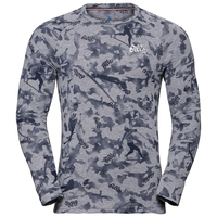 Herren ACTIVE WARM ORIGINALS Funktionsunterwäsche Langarm-Shirt, grey melange - AOP FW19, large