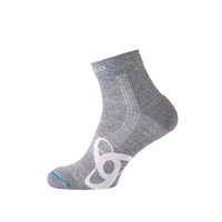 Natural+ LIGHT kurze Socken, grey melange, large