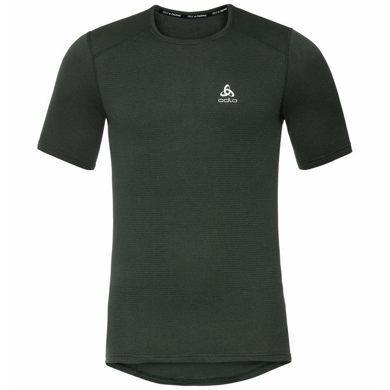 ACTIVE THERMIC-basislaag-T-shirt voor heren, climbing ivy melange, large