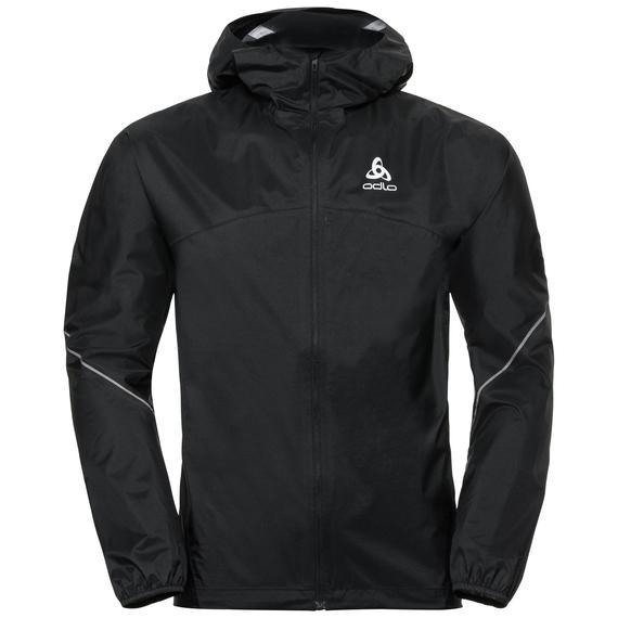ZEROWEIGHT Warm Regenjacke, black, large